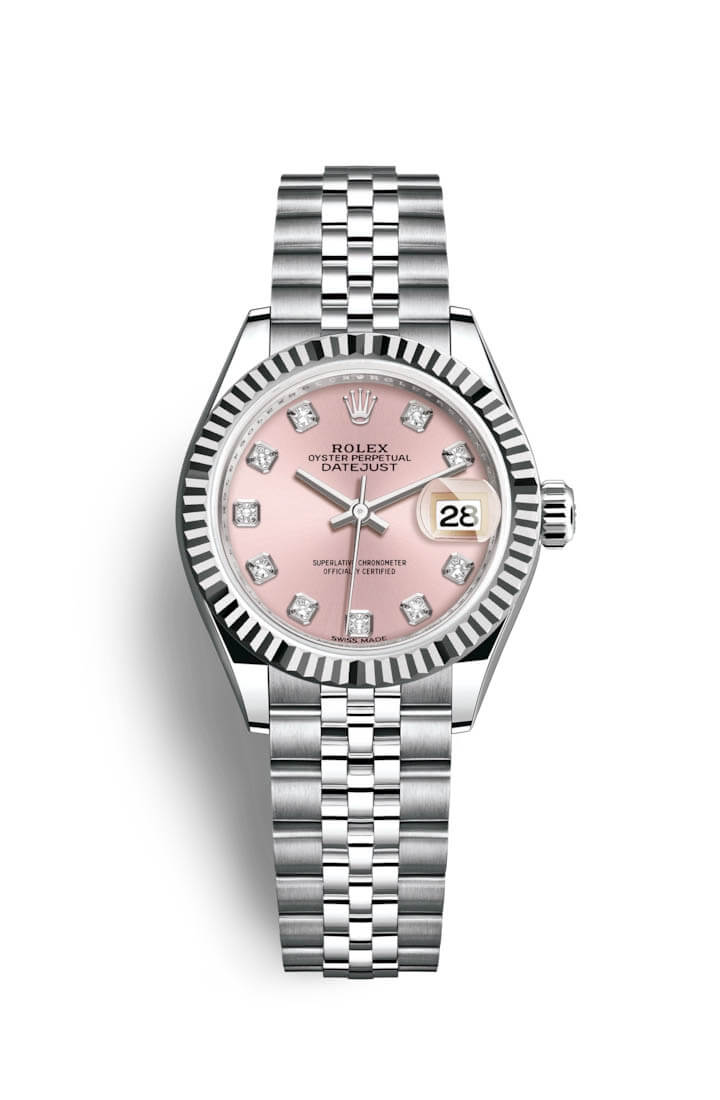 Rolex Lady-Datejust Oystersteel and white gold watch